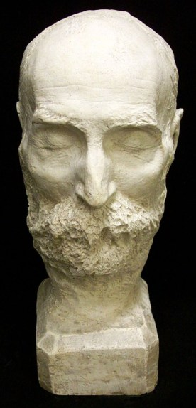 Máscara mortuoria de Walt Whitman (1819 - 1892)