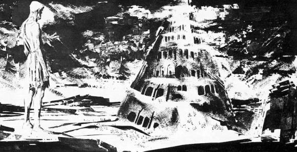 Alberto Breccia y Héctor Oesterheld, La Torre de Babel (Mort Cinder, 1963). Misterix, Editorial Yago.
