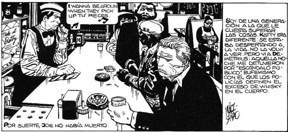 Alack Sinner, Fillmore (1975)