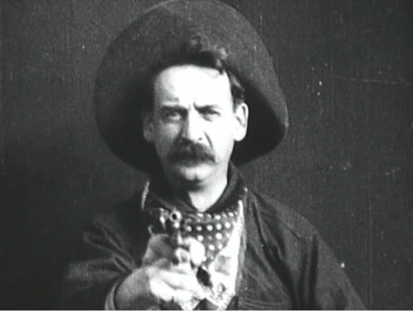 Gilbert M. 'Broncho Billy' Anderson, The Great Train Robbery ( Edwin S. Porter, 1903).  Edison Manufacturing Company.