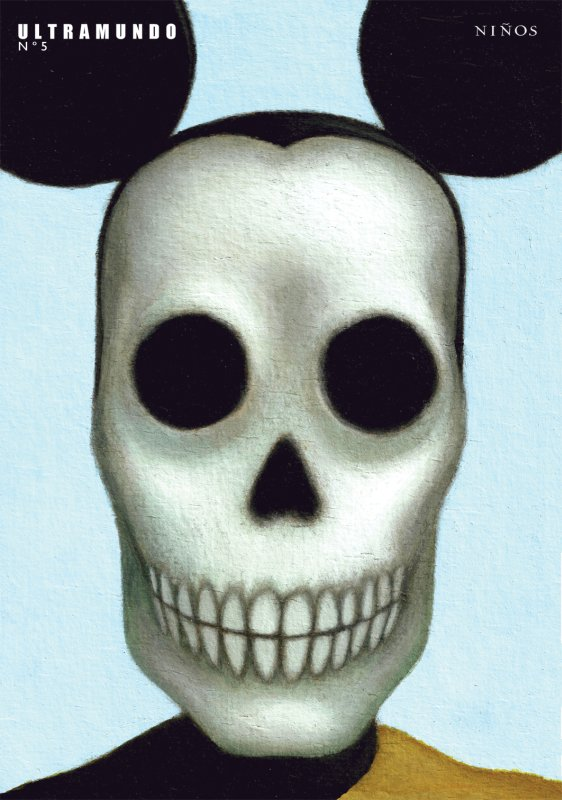 Pedro Mancini, portada de Ultramundo Nro. 5, 2010.