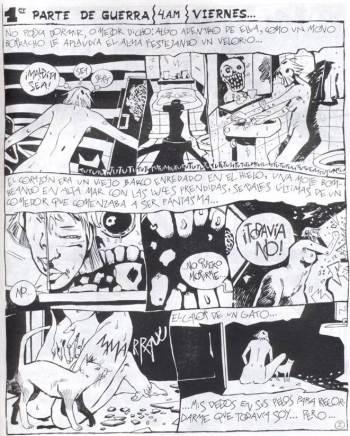 Patricia Breccia, Sin Novedad en el frente (1986)