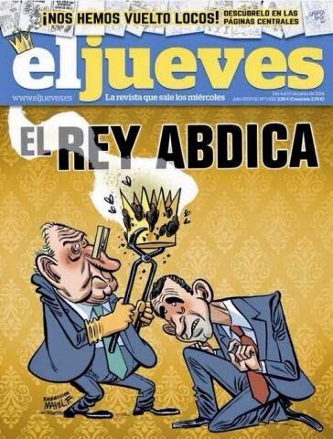 Manel Fontdevila, El Jueves Nro. 932 (Junio de 2014)