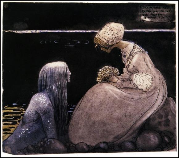 John Bauer, Agneta y el Rey del Mar (12 de marzo de 1911)