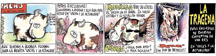 Rep (Miguel Repiso), Contratapa de Página/12 (03-12-2014).