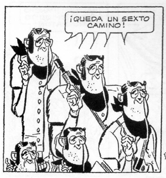 """Alberto Breccia y Lépido Frías (Abel Santa Cruz), Los Tupacingo en """"Pancho López"""", Pancho López, Editorial Códex (1957)"""