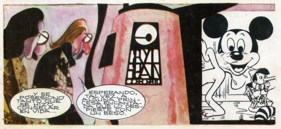 Alberto Breccia y Carlos Trillo, La Bella Durmiente, SuperHumor Nro. 4  (enero-febrero de 1981). Ediciones de la Urraca.