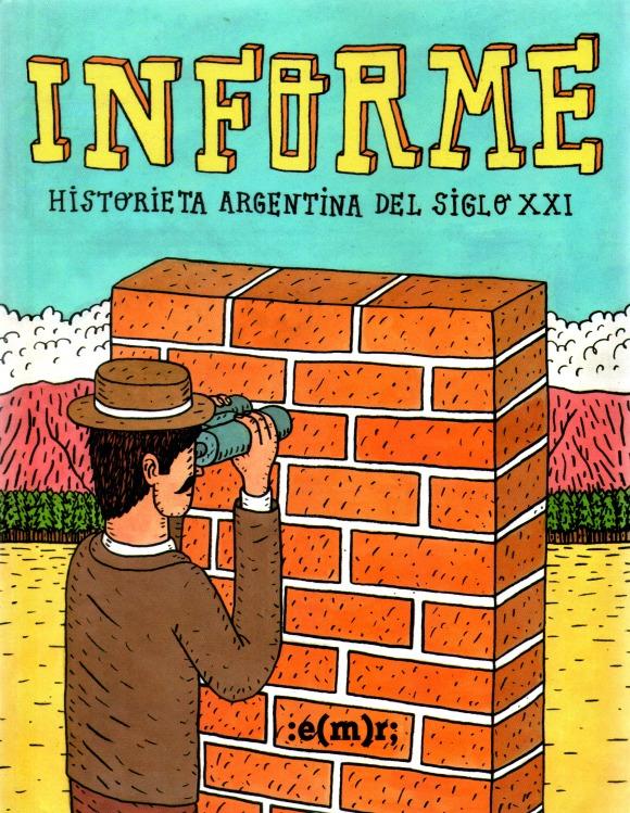 Informe, portada de Federico Calandria (2015)